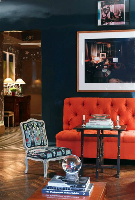Orange Living Room Sets 18 Orange Sofas That Will Spruce Up Your Living Room Set