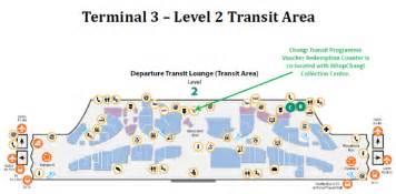Changi Airport Floor Plan Changi Transit Programme