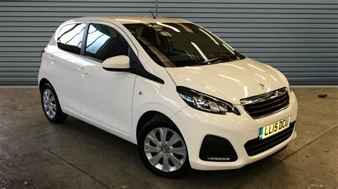 used peugeot 108 automatic used peugeot 108 hatchback 1 0 active 5dr 2015 ll15dcu