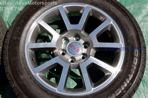 20 gmc wheels 2015 gmc yukon 20 quot oem factory wheels tires tahoe