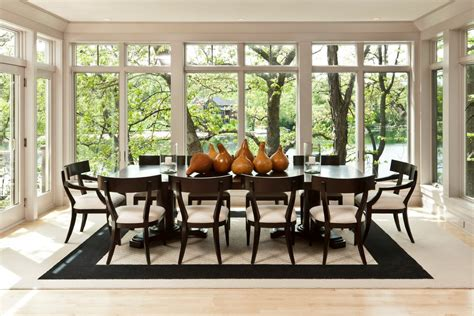 No Dining Room Room With No Windows Dining Room Contemporary With Window Wall Circle