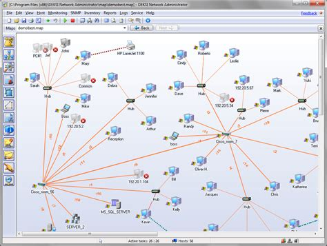 map program network mapping software map monitor diagram your network