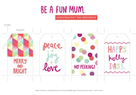 printable christmas tags funny christmas gift tag printables be a fun mum