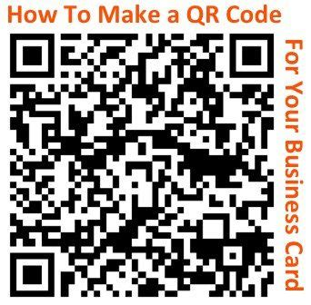how to make qr code for business card how to make a trackable qr code for your business card
