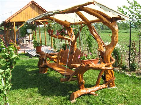 rustic garden swing the garden swing sweet memories and romantic moments