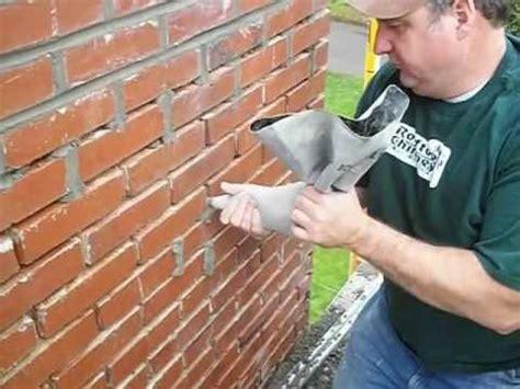 repair of chimney mortar joints youtube