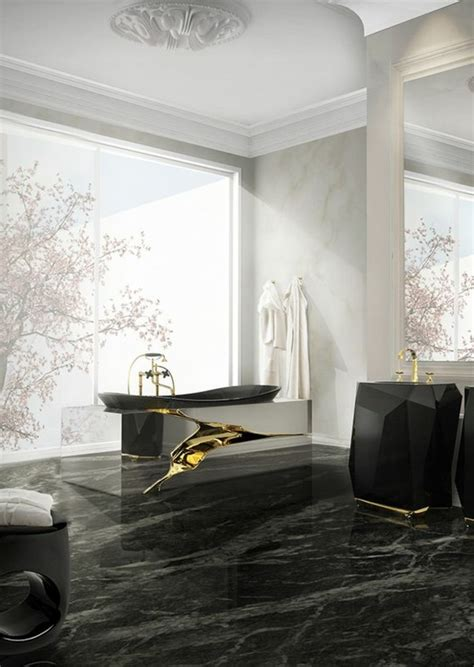 Salle De Bain Design Luxe by Salle De Bain Design Luxe Noir Et Blanc Urbantrott