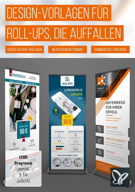 Indesign Vorlagen Kaufen Design Vorlagen F 252 R Roll Ups Die Auffallen Psd Tutorials De Shop