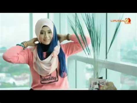 tutorial jilbab pashmina dasar licin video tutorial hijab natasha farani cara memakai jilbab