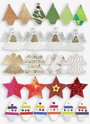 best 28 fold out christmas decorations black fold out