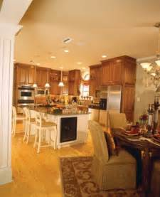Open Floor Plan Kitchen Dining Living Room Open Floor Plans Open Home Plans House Plans And More