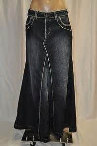 1000 images about floor length denim skirts on