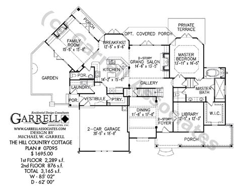 Hill House Plans by Hill Country Cottage House Plan Country Farmhouse Southern