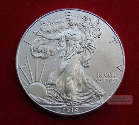 1 Troy Ounce Silver 999 Coin Liberty - 2014 silver dollar coin 1 troy oz american eagle walking