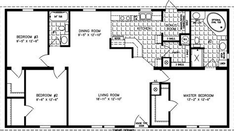 Floor Plan 1200 Sq Ft House | 1200 sq ft home floor plans 4000 sq ft homes 1200 sq ft