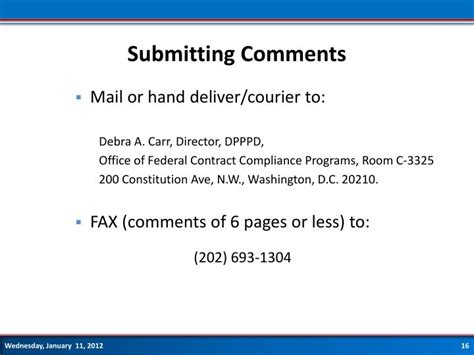 section 503 compliance ppt ofccp proposed section 503 regulations webinar