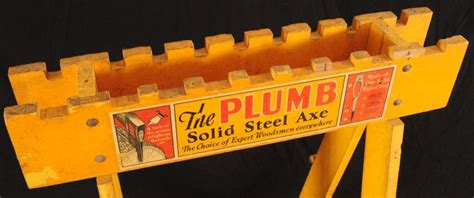 The Plumb Store by The Plumb Axe Advertising Country Store Rack