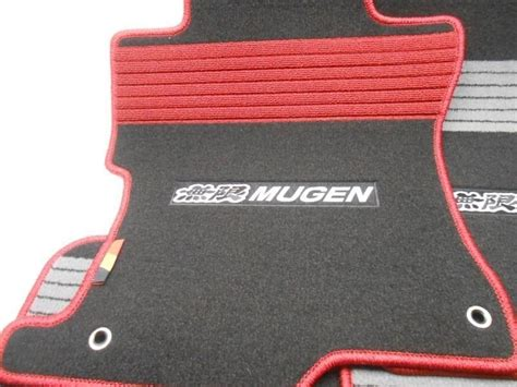 new 2008 2010 honda accord sedan mugen sport floor mat set