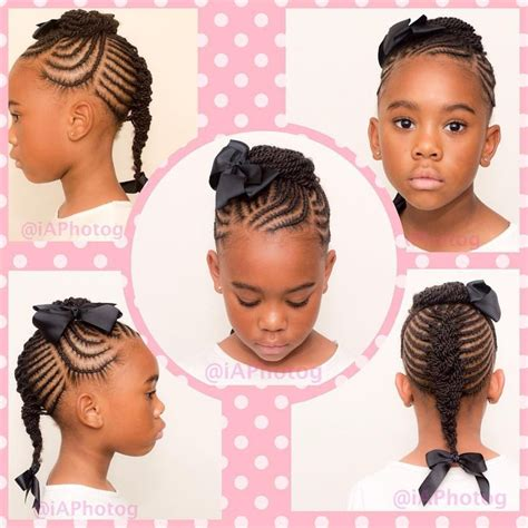 Braided Hairstyles For Black Ages 5 7 355 best images about princess black