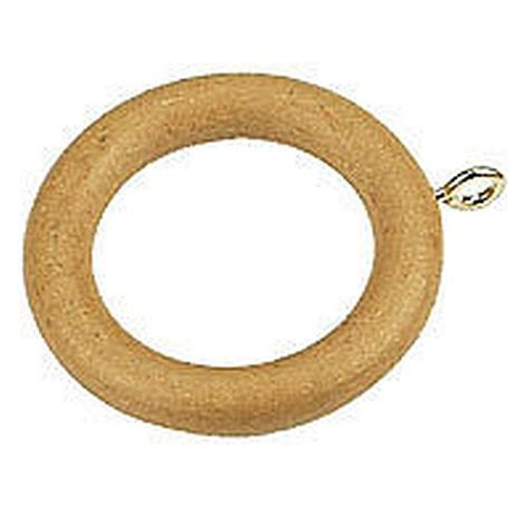 wood curtain rings 20 x beech wood wooden curtain rings 35mm new ebay
