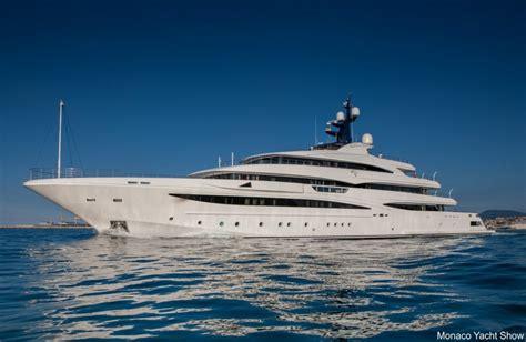 st cloud boat show de 8 grootste superjachten op de monaco yacht show