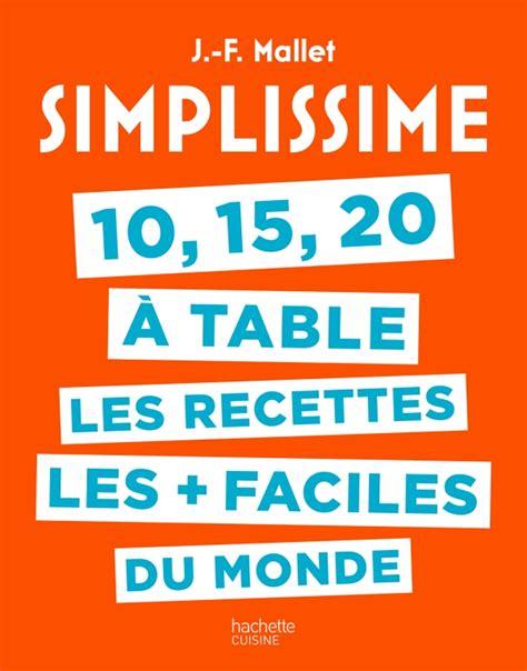 Simplissime 10 15 20 224 Table Hachette Pratique