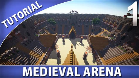 Minecraft House Blueprints Plans minecraft how to build a medieval arena part 1 9 youtube