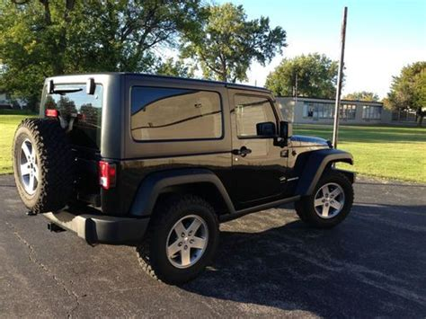 2012 Jeep Wrangler 2 Door Sell Used 2012 Jeep Wrangler Rubicon Sport Utility 2 Door