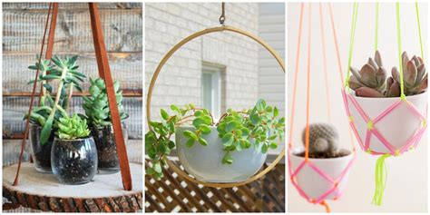 Make A Hanging Planter by Diy Hanging Planters Hanging Planter Ideas