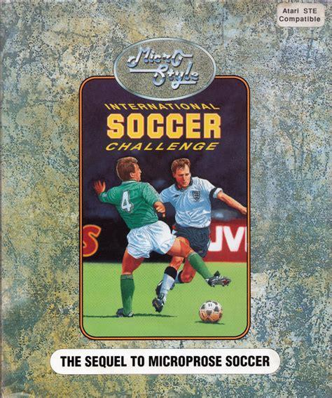 international soccer challenge international soccer challenge for atari st 1990 mobygames