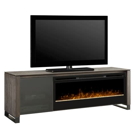 dimplex howden tv stand with electric fireplace reviews