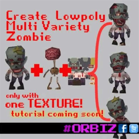 zombie tutorial game tutorial how to create 3d zombies orbiz game image