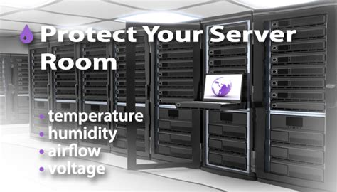 temperature server room temperature monitoring in server rooms and data centers enviromon