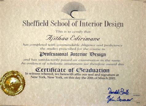 fashion design certificate nyc interior design certificate beautiful home interiors