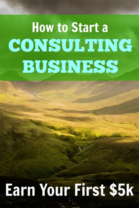 Starting To 5k by How To Start A Consulting Business Your 5k