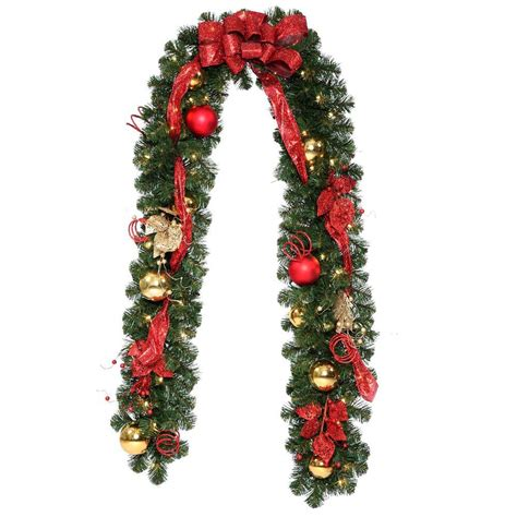 lighted christmas garland clearance christmas garland with lights artificial christmas garland