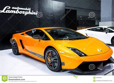 Lamborghini Gallardo 4 Seater Gallardo Lp560 4 De Lamborghini Foto De Stock Editorial