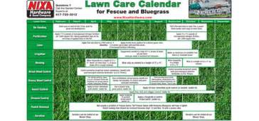 lawn care calendar seed pellet stoves wood stoves