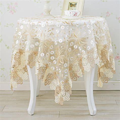 Fabric Table Mats by European Table Cloth Glass Yarn Fabric Table Cloth