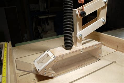 table saw dust collection blade dust collection for table saw by lumberpunk lumberjocks woodworking community