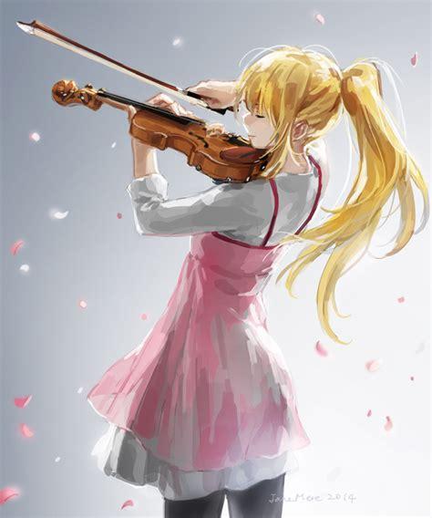 anime girls anime sunset shigatsu wa kimi no uso shigatsu wa kimi no uso your lie in april zerochan