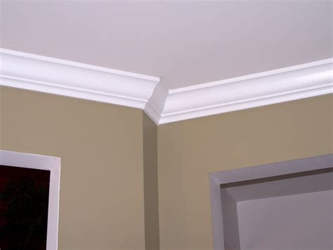 simple crown molding design house exterior and interior