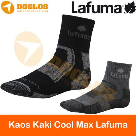 jual kaos kaki lafuma trekking outdoor gunung sock summit series import toko doglos