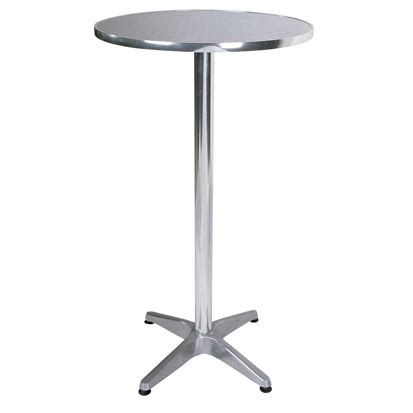 Aluminium Bistro Table Bisect Bistro Bar Table In Aluminium 2242