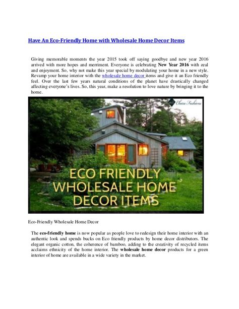 have an eco friendly home with wholesale home decor items have an eco friendly home with wholesale home decor items