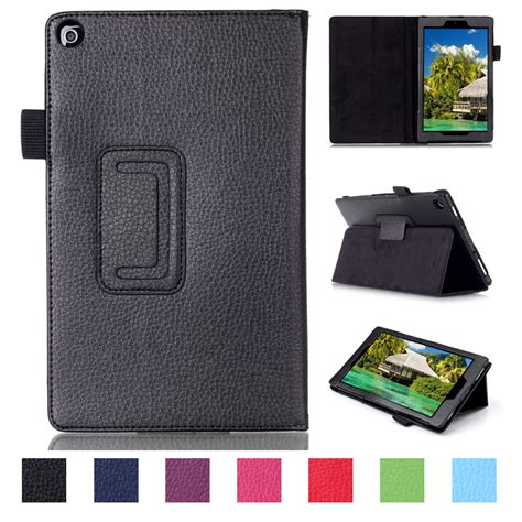 luxury flip leather slim stand smart cover for kindle hd 8 2016