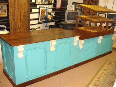 Handmade Shoo Bar - retail counter cabinet cupcake shop bar by jamesrobinson
