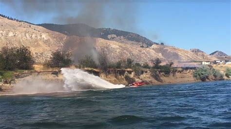 cigarette boat puts out fire in kamloops cigarette boat captain helps extinguish blaze as