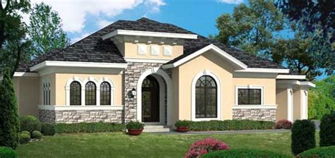 one story tuscan house plans tuscan style house plans 4077 square foot home 1 story