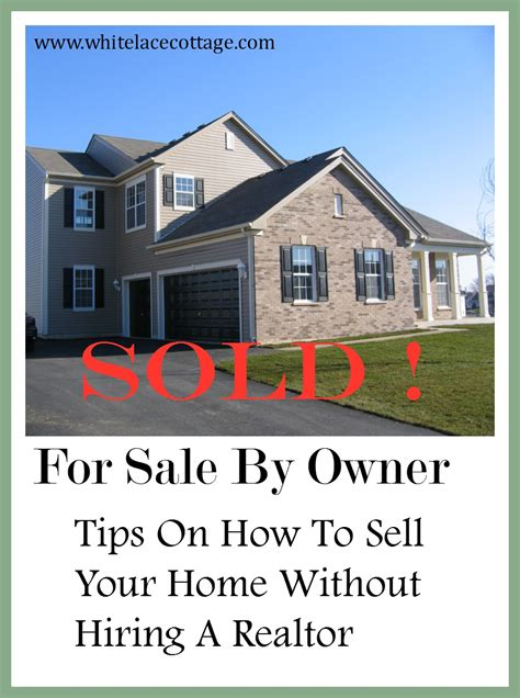 Selling My House By Owner How To Sell A Home By Owner No Realtor